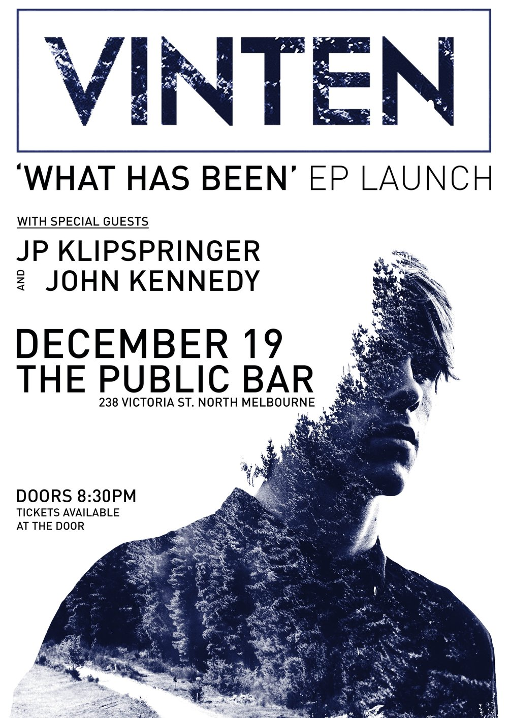 EP LAUNCH POSTER FOR VINTEN