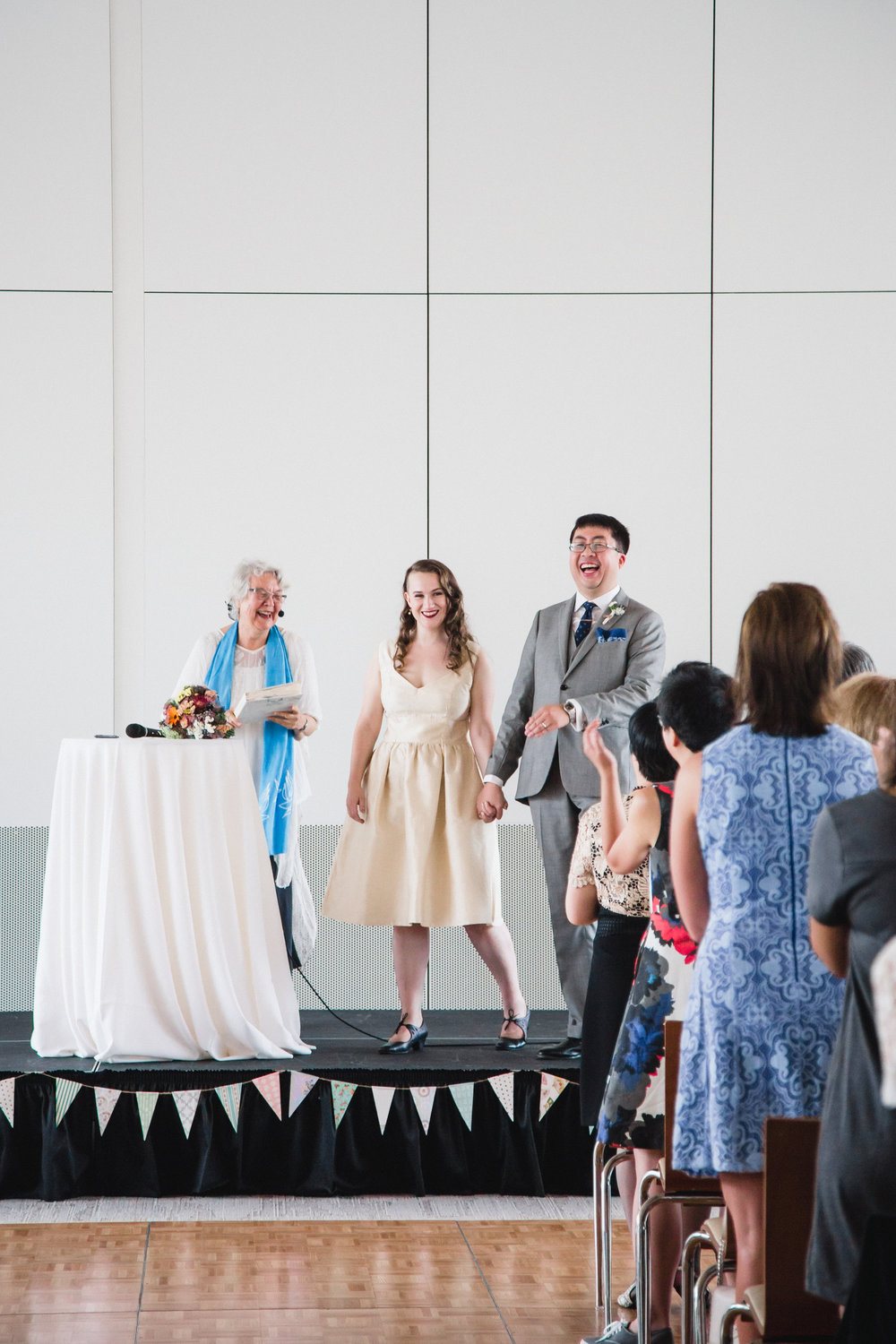 MODERN WEDDING AT UBC ALUMNI CENTRE | VANCOUVER, BC