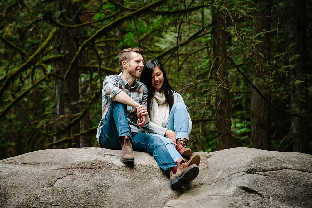 North Vancouver Lynn Canyon Lynn Valley Engagement Session Engagement Photos Andrew's Cafe Lonsdale Quay North Vancouver Wedding Photographer_0015.jpg