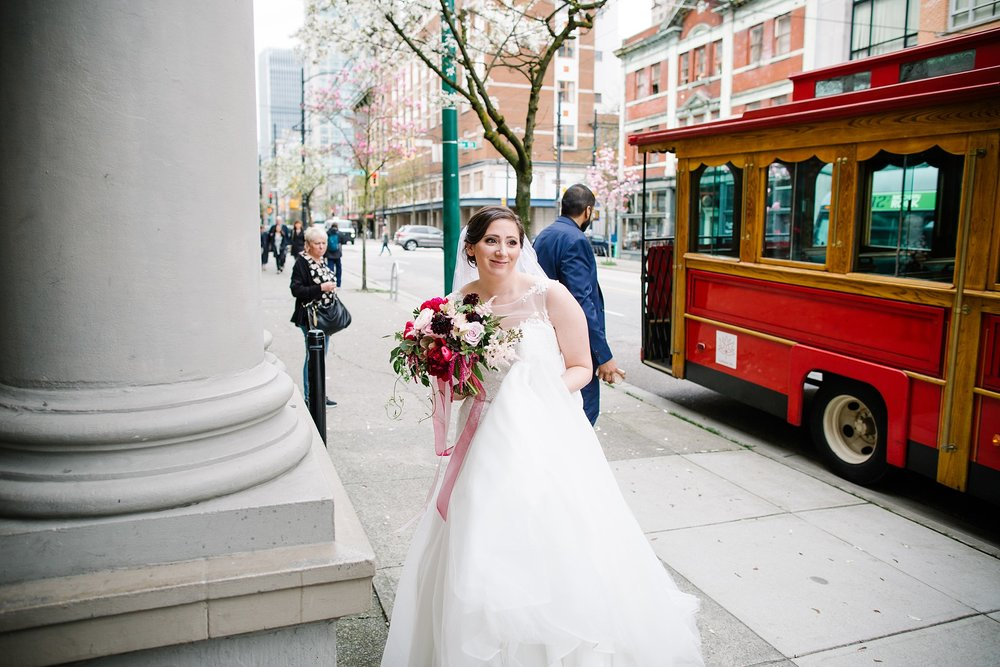 April14.JohnLaura168_Note Photography Photojournalistic Ben Nelms Documentary Photography Award Winning The Permanent Vancouver Wedding Venue 330 West Pender Street Gastown Photos Water Street Disney Themed Blood Alley.jpg