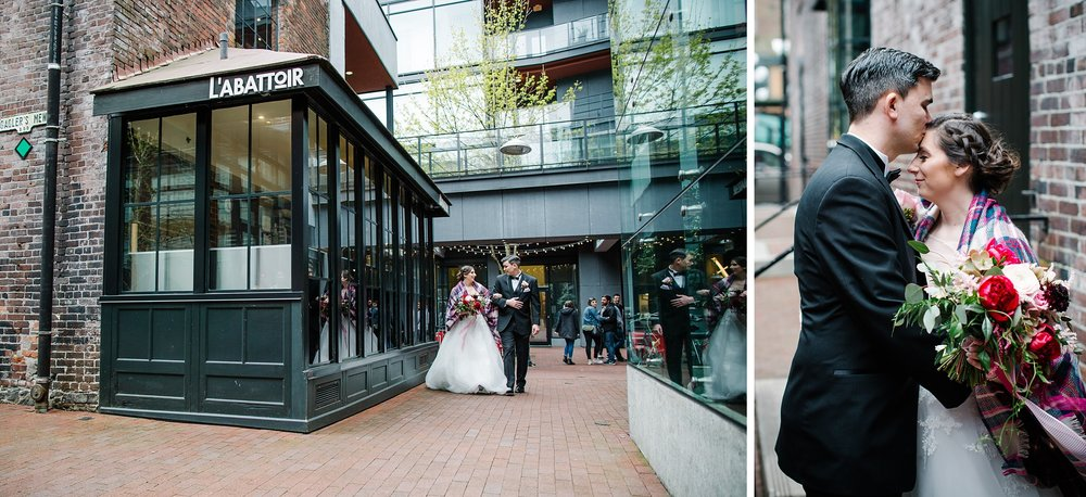 April14.JohnLaura405_Note Photography Photojournalistic Ben Nelms Documentary Photography Award Winning The Permanent Vancouver Wedding Venue 330 West Pender Street Gastown Photos Water Street Disney Themed Blood Alley.jpg