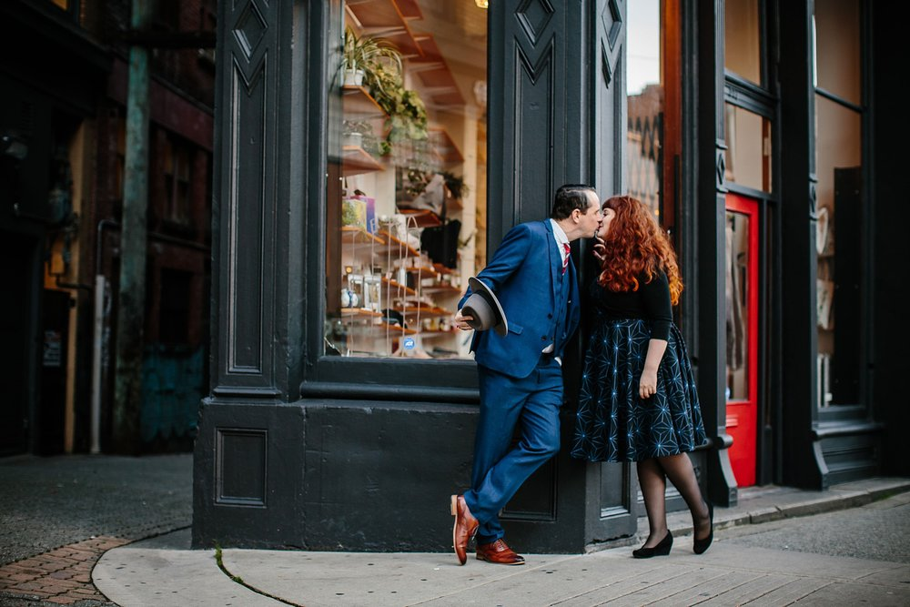 Nov16.RachelJay0800 (1)_Note Photography Documentary Photographer Wedding Photos Vancouver B.C. Gastown Engagement Session Revolver Coffee Blood Alley Vintage Retro Marine Building.jpg