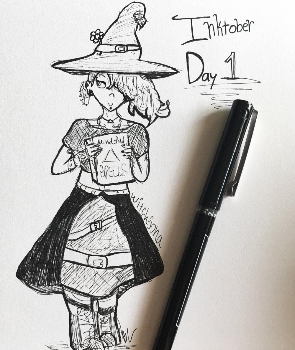 Day 1 // Witchsona