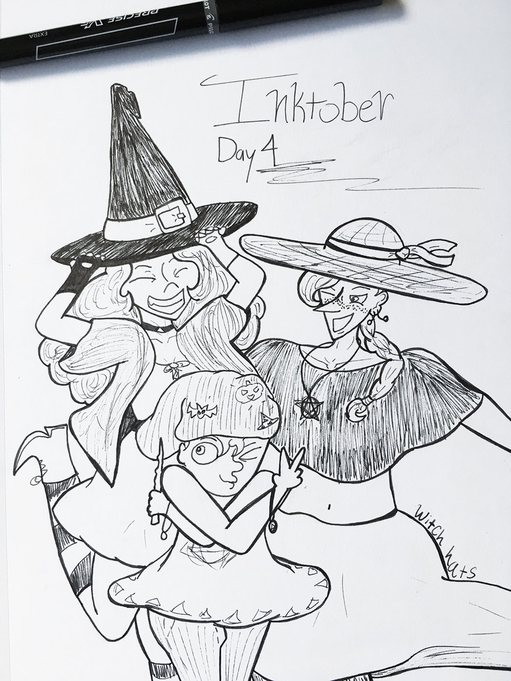 Day 4 // Witch Hats