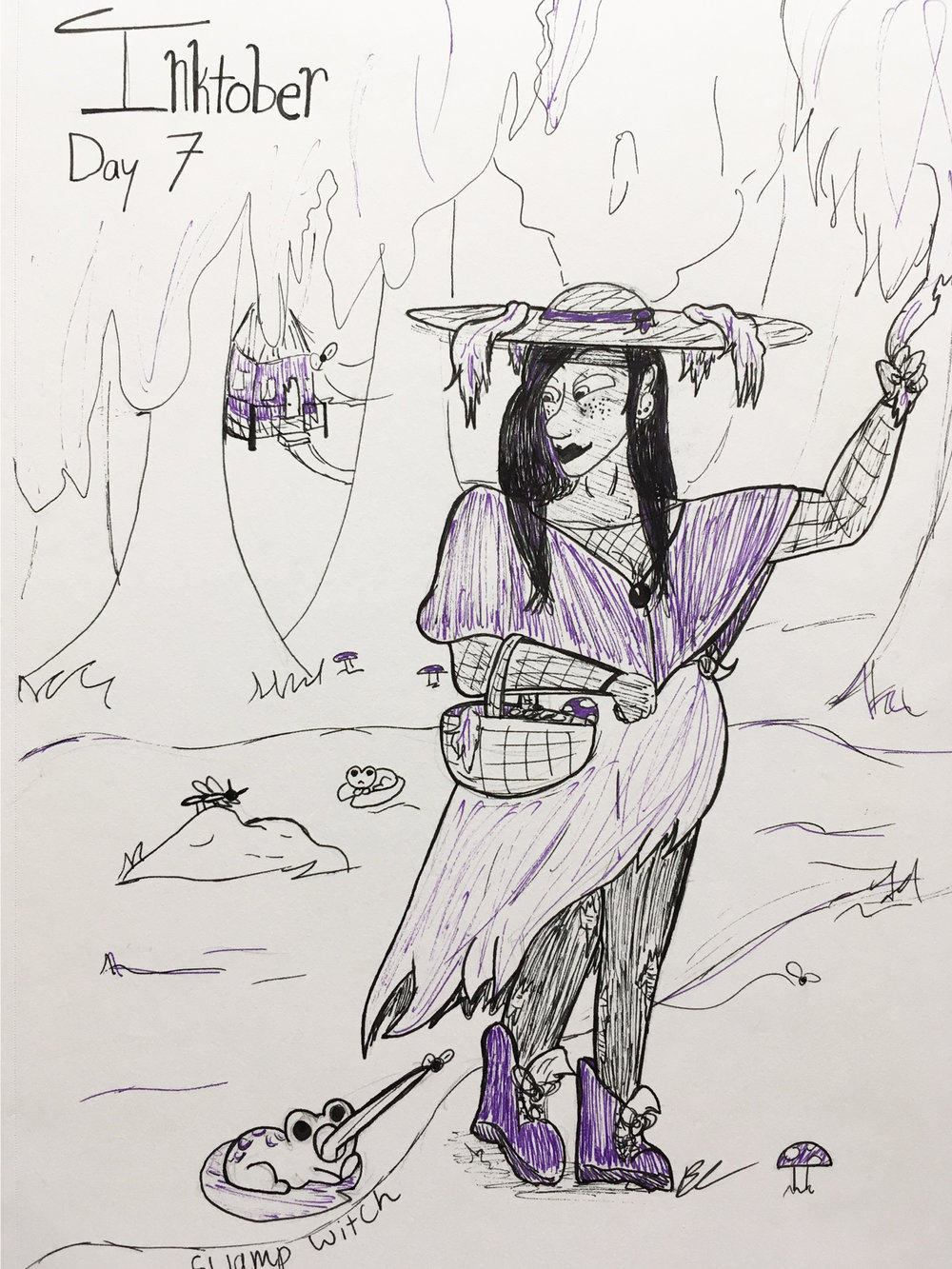 Day 7 // Swamp Witch