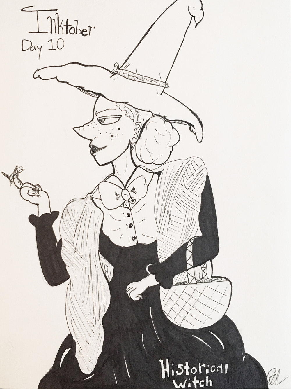 Day 10 // Historical Witch
