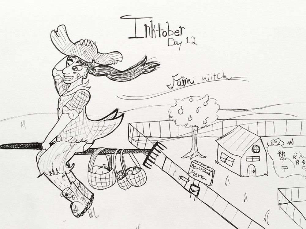 Day 12 // Farm Witch