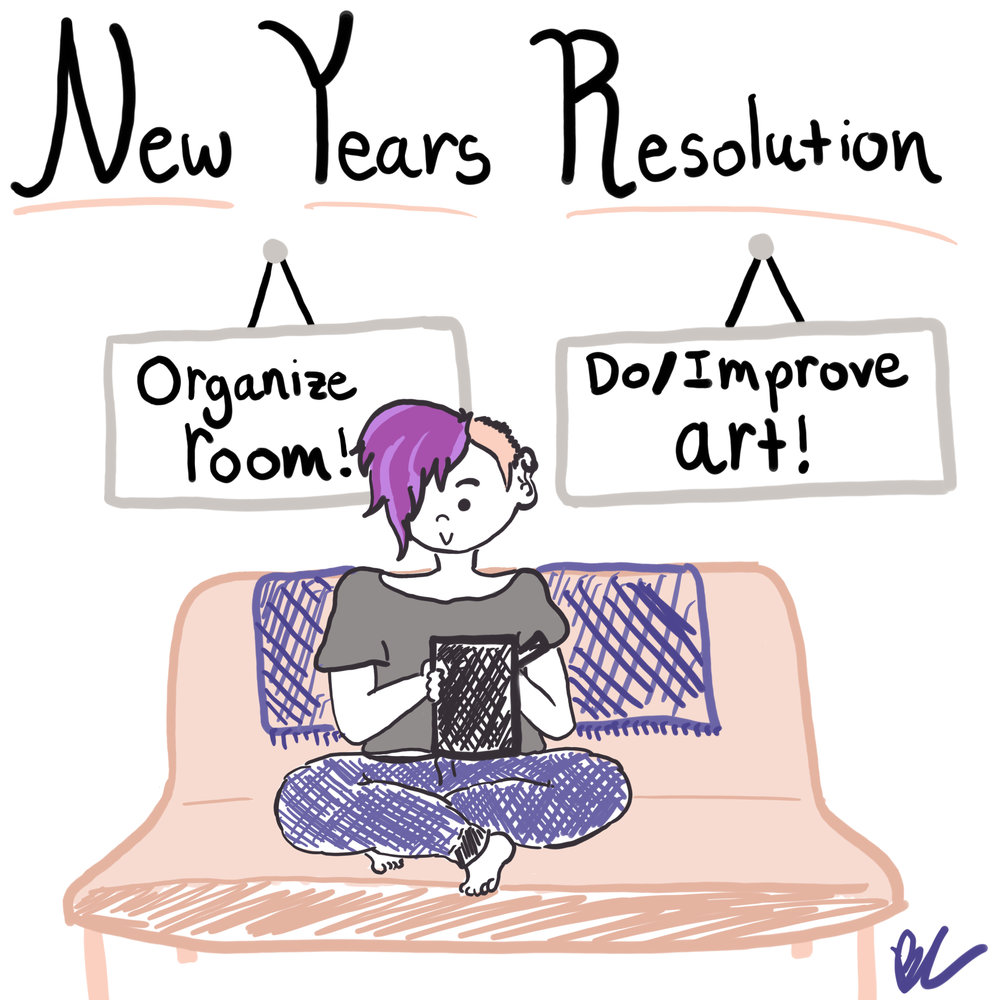 Day 1 // New Years Resolution