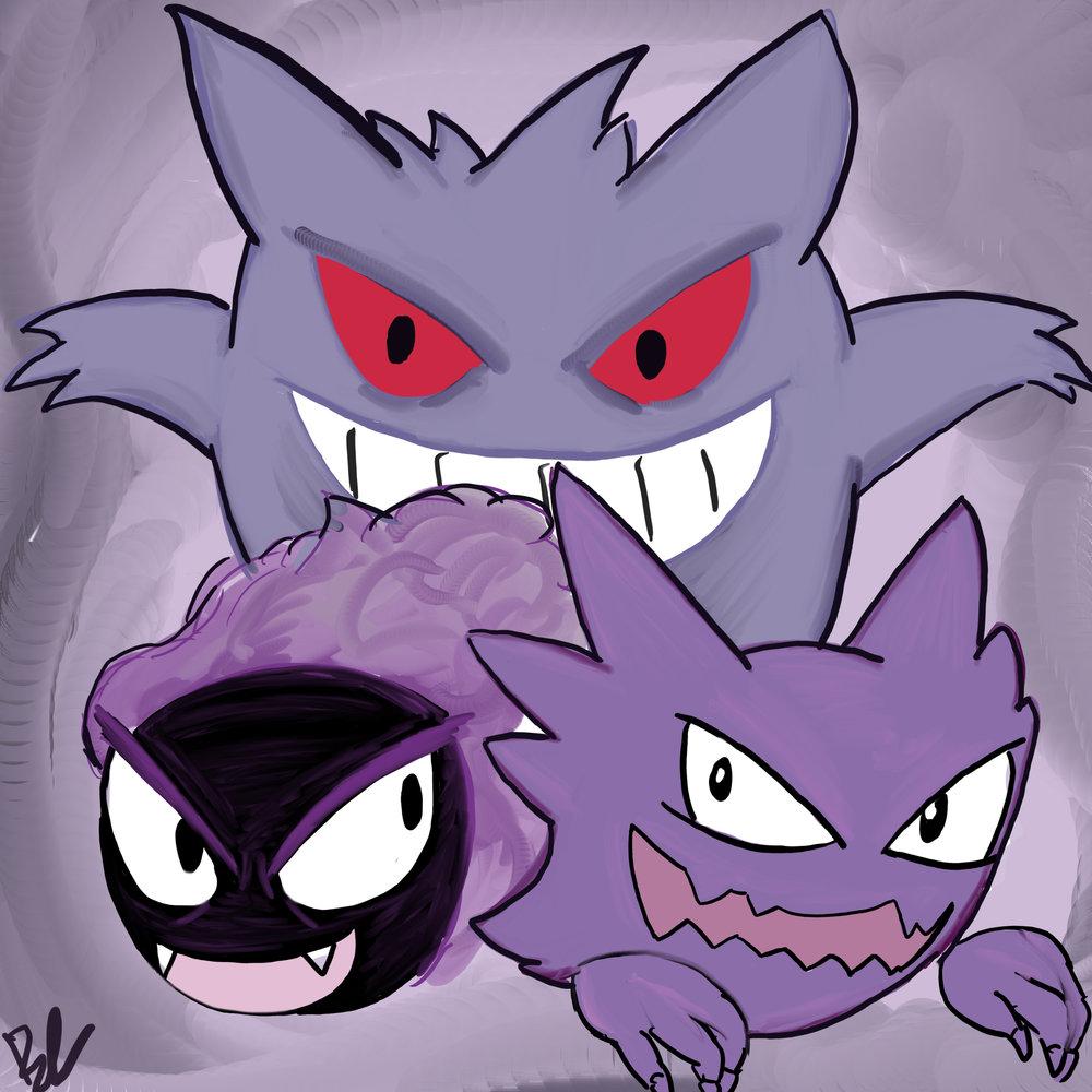 Day 7 // Favorite Pokemon Evolution