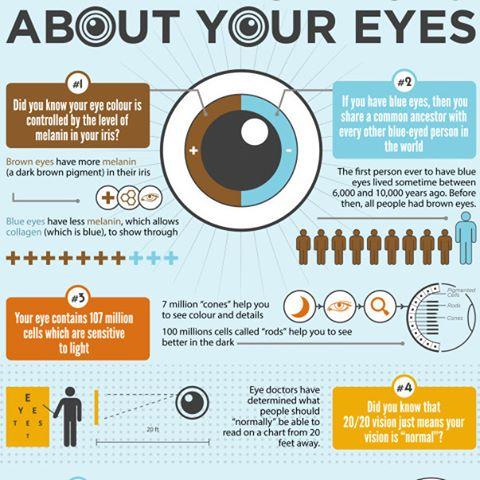 #eye #health #infographic
