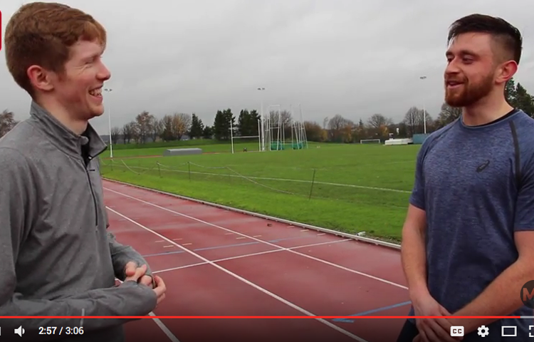 An interview with GB race walker Tom Bosworth