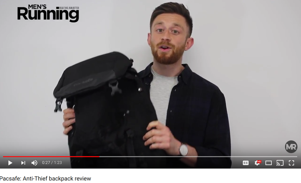 Reviewing Pacsafe's anti-theft backpack