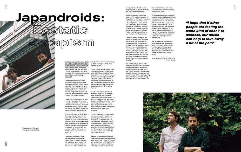 Crack Magazine Japandroids