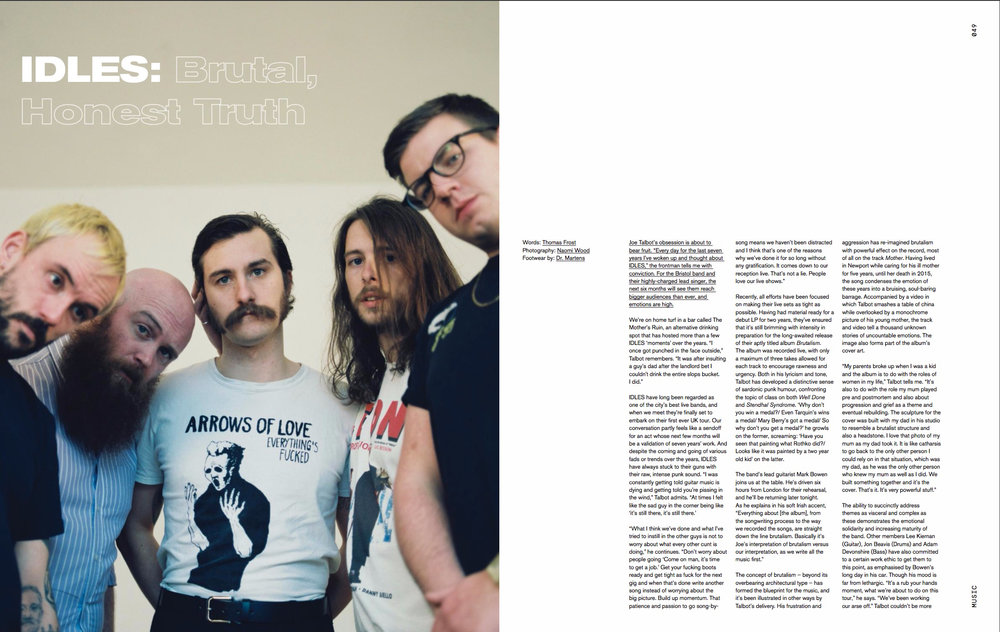Idles for Crack Magazine