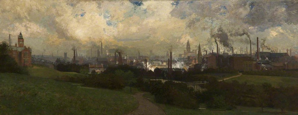 Bolton From Queen's Park, Samuel Towers ( 1862-1943)