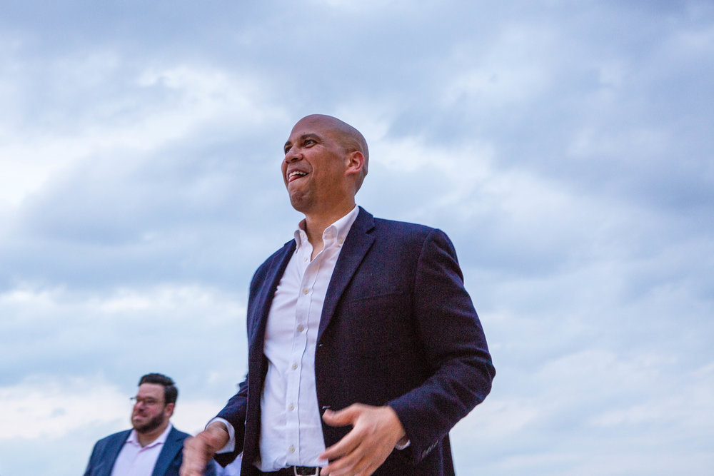 Sen. Booker, Party for Something, DC