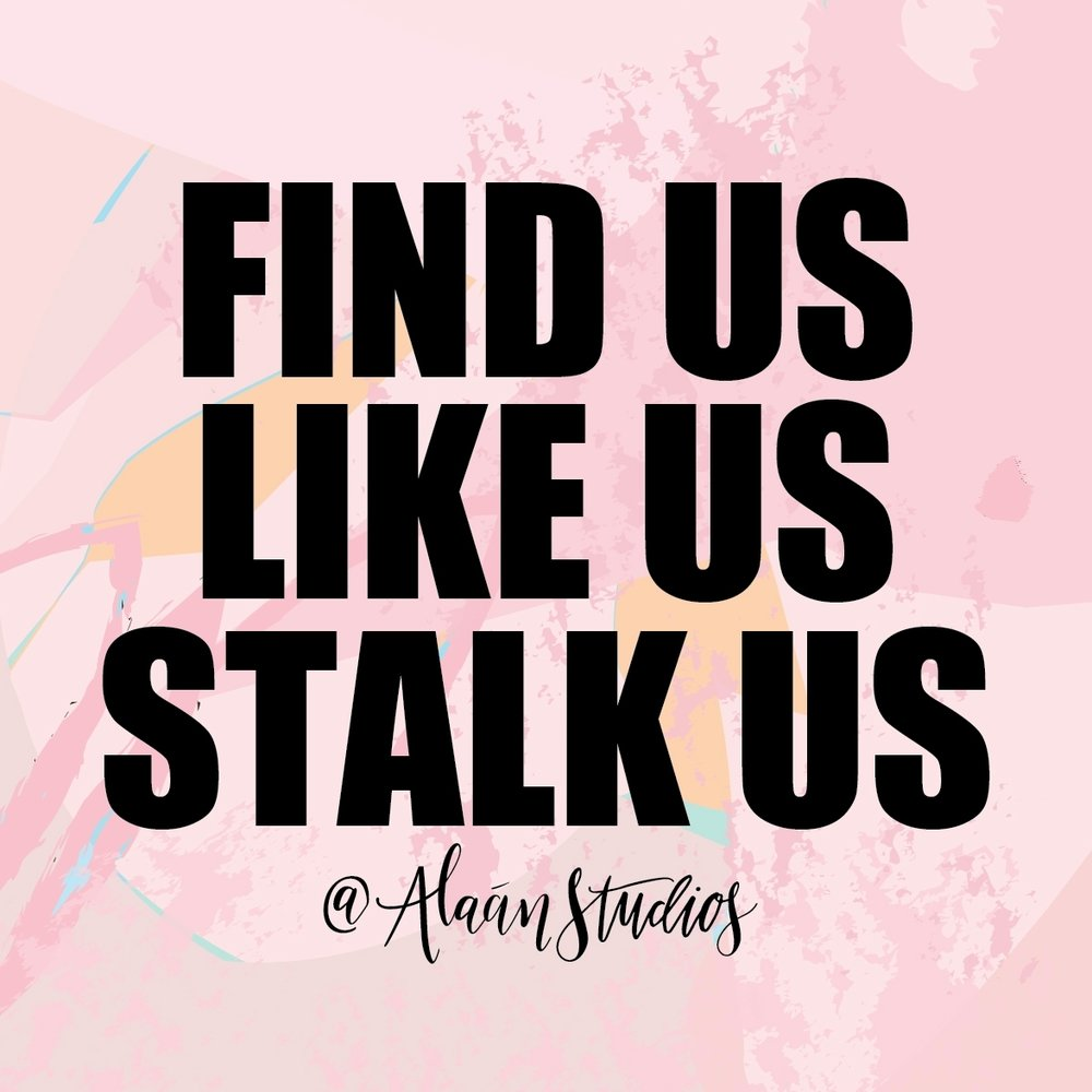 STALK US, LIKE US