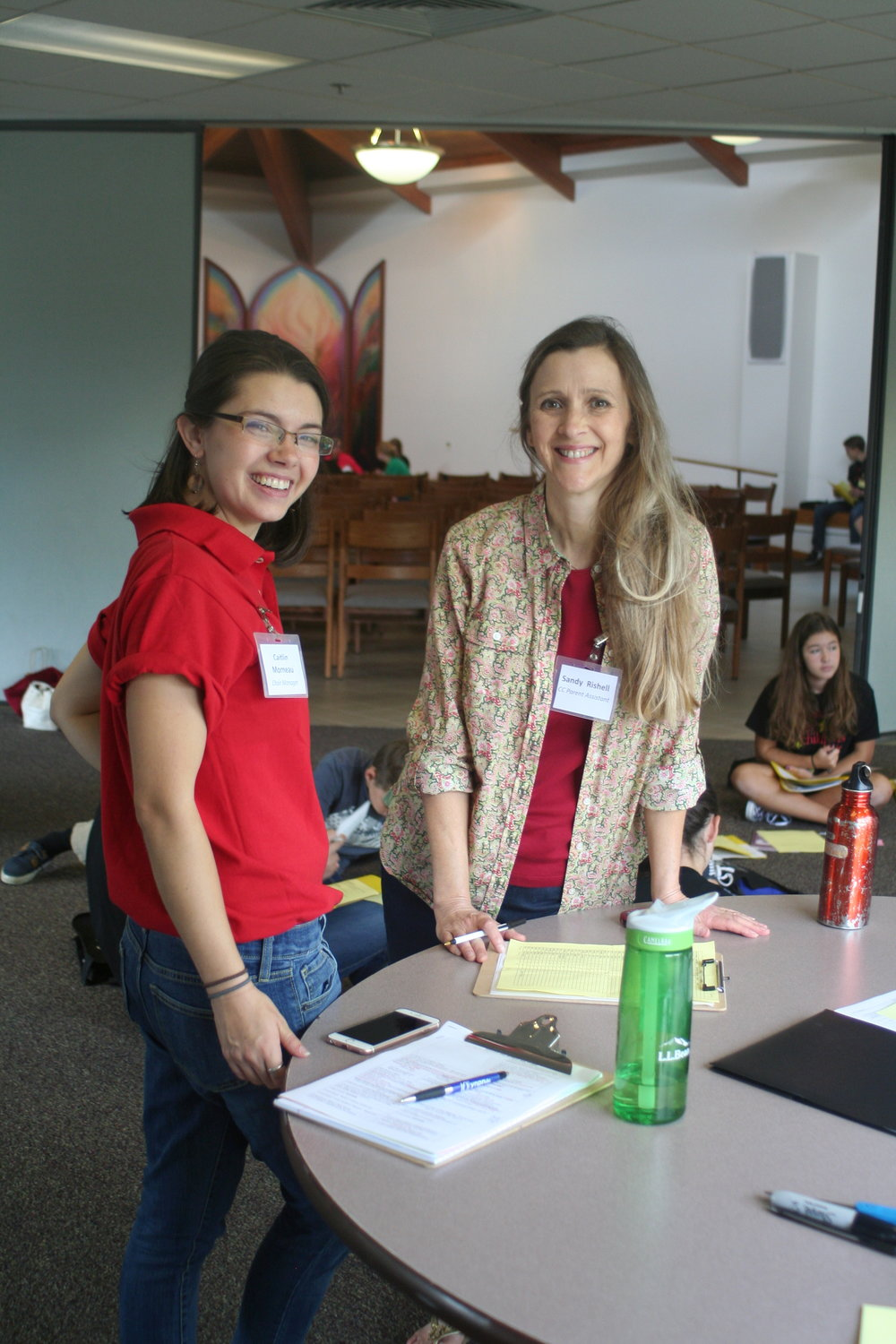 2016 Caitlin with Sandy Rishell at Retreat.JPG