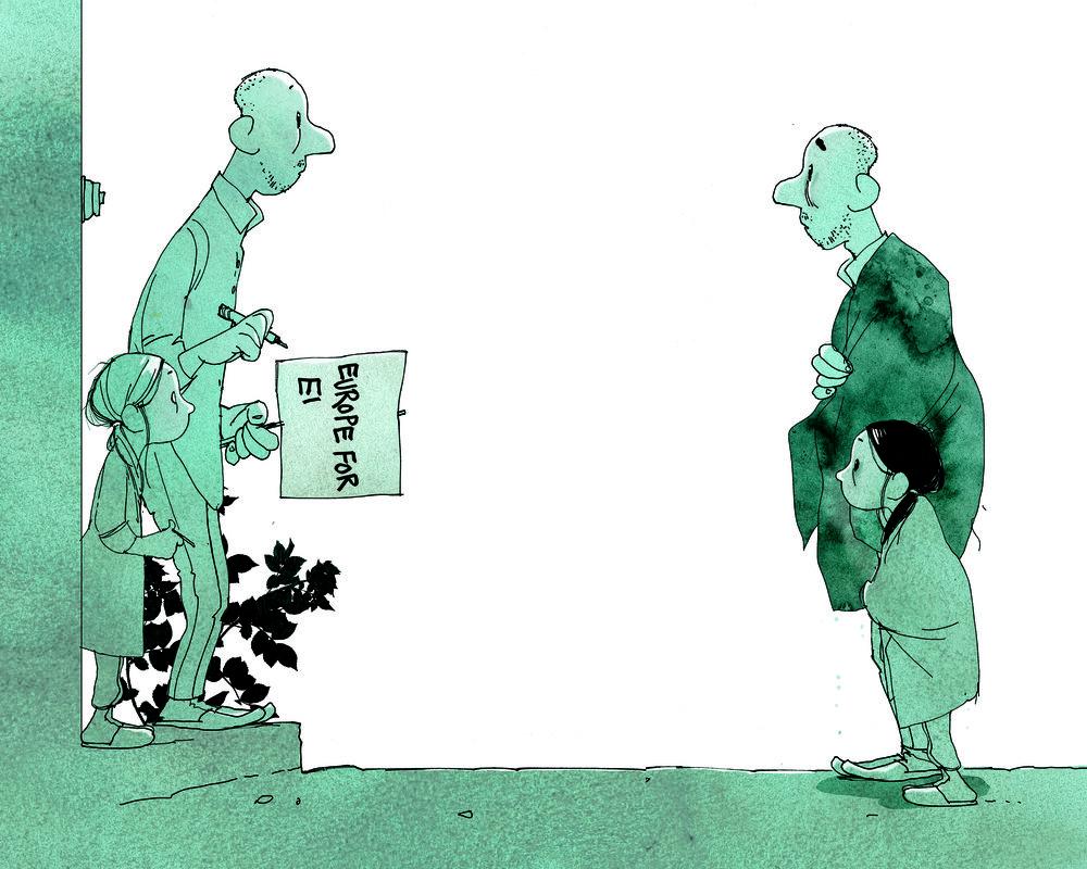 Strangers at the door, 2015