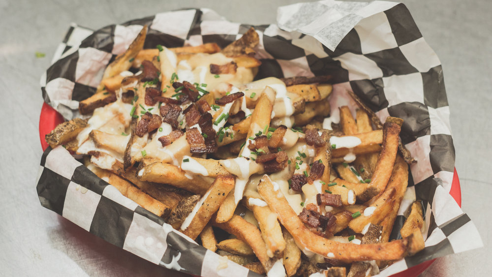 "Loaded ""Baked Potato"" Fries"