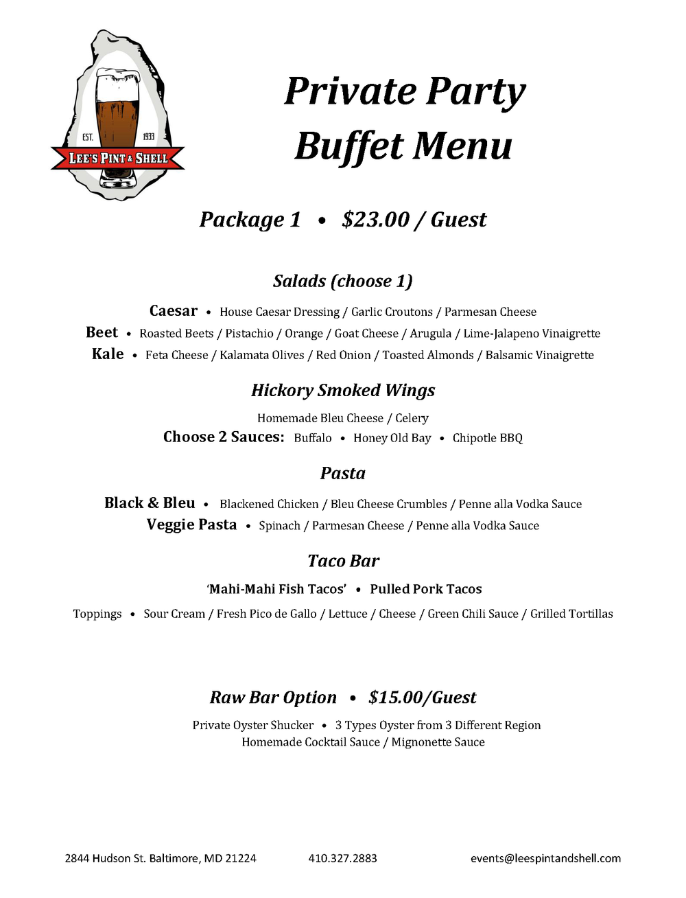Private Party Buffet Menu.Package 1.png
