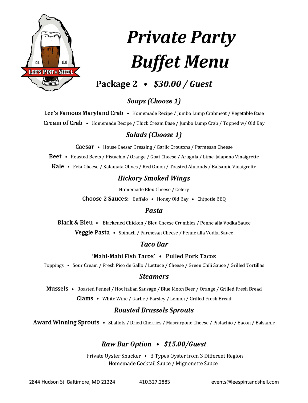 Private Party Buffet Menu.Package 2.png