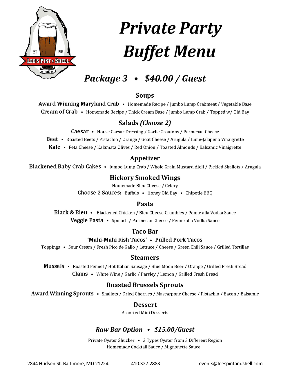 Private Party Buffet Menu.Package 3.png