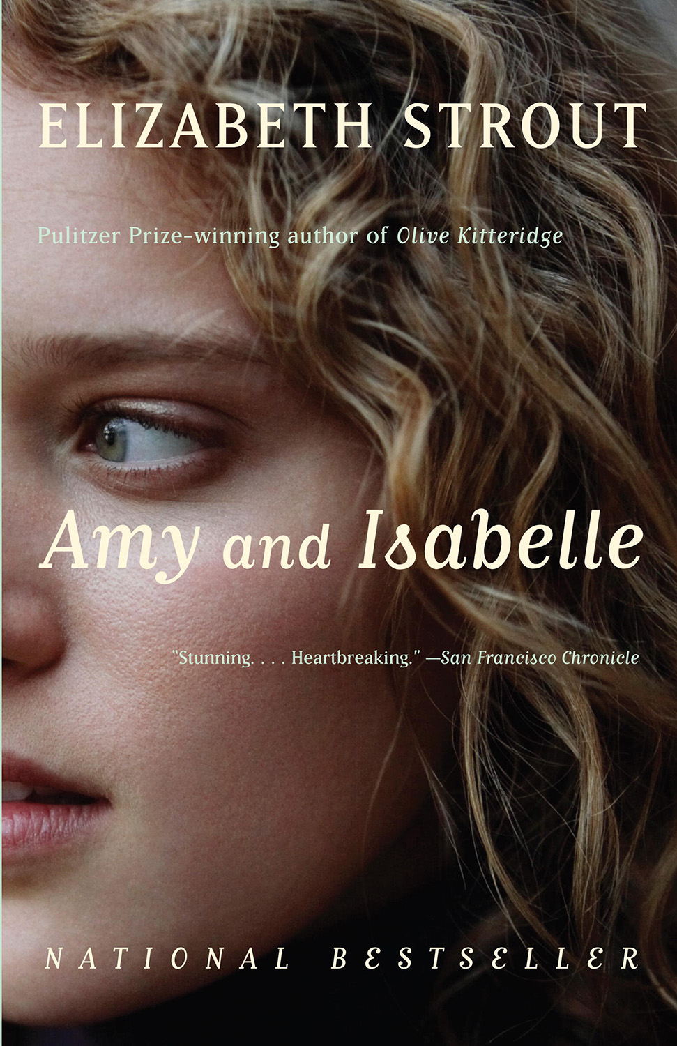 Book cover of Amy and Isabelle by Elizabeth Strout. Review by Allie Cresswell allie-cresswell.com