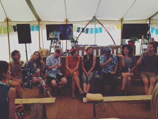 Our gorgeous @shambalafest #organic #debate panel! Thanks so much to Nessie, Niels, rob, Alex, @sadhbhmoore for their awesome chats :) we had so much fun! #food #farming #sustainability #ecosystem #environment #festival