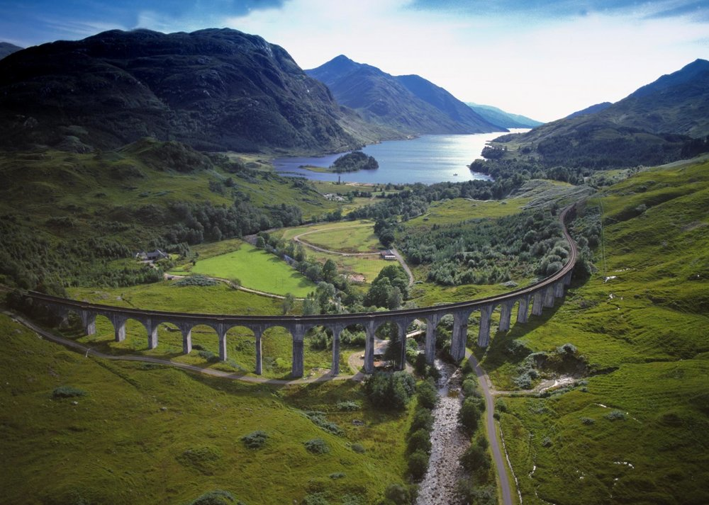"""Harry Potter Bridge"" Glenfinnan Viaduct"