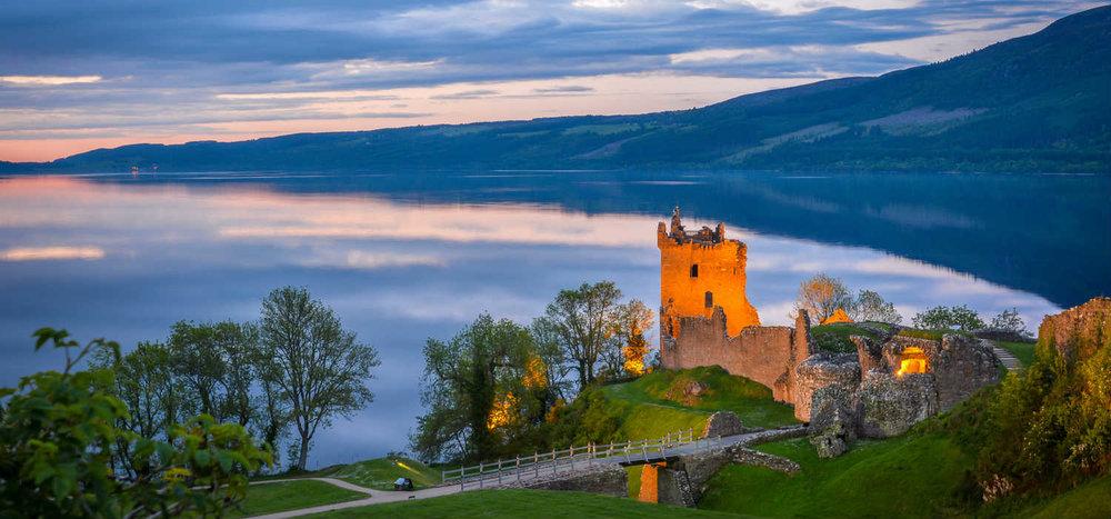 Urquhart Castle Ruins, Loch Ness