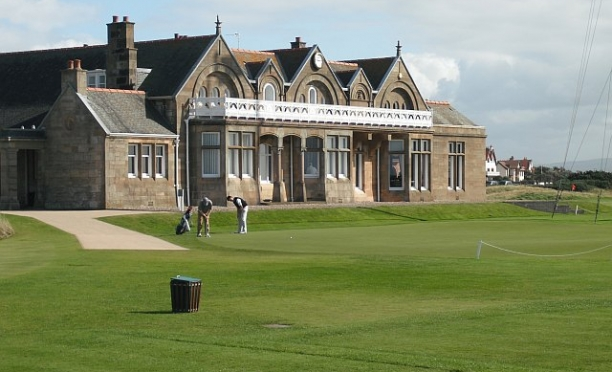 Clubhouse, Royal Troon