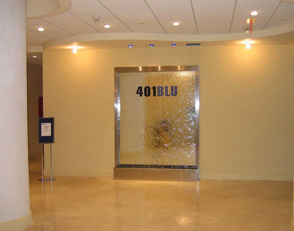 401 Blu Mirror