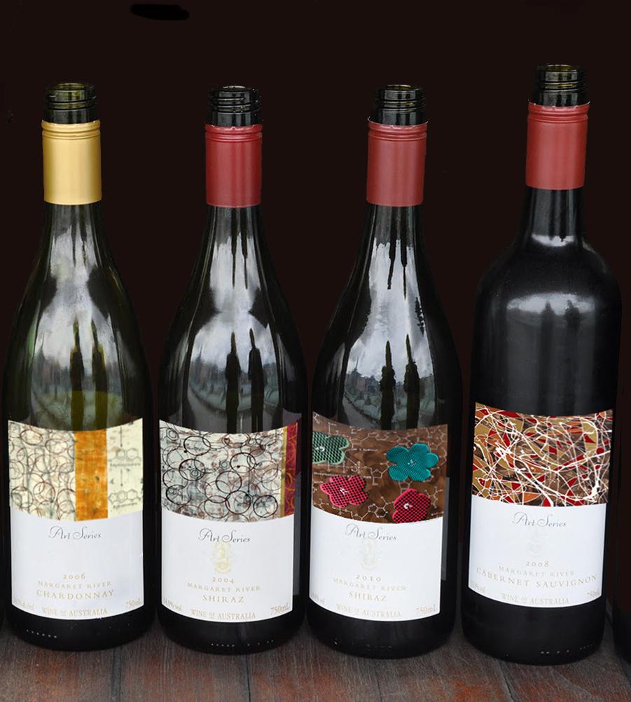 Artist Series Wine Labels