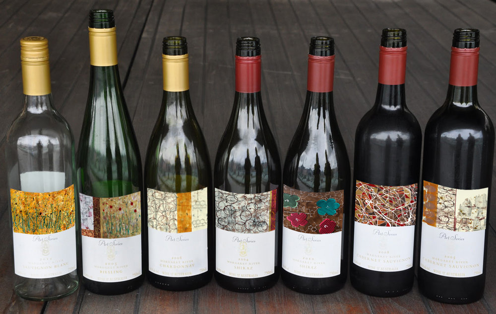 Artist Series Wine Labels by Taylor Smith