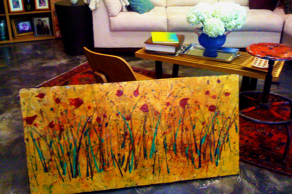 [Studio View] Abstract Landscape