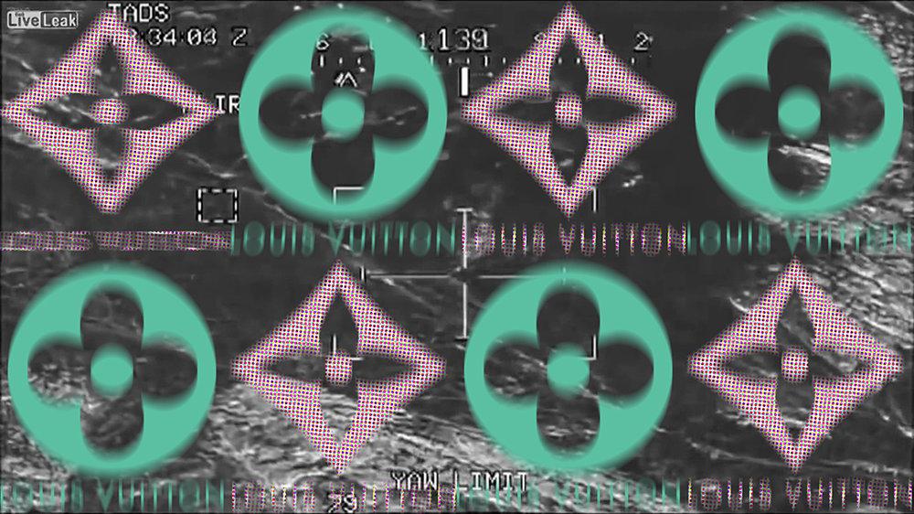 Fallujah Drone Gun Sight Video Sponsored by Louis Vuitton
