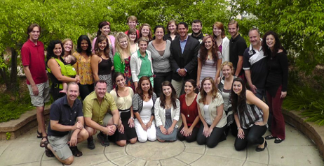 2012 UNVI Participants & Faculty with Guest Artists Nathan and Julie Gunn