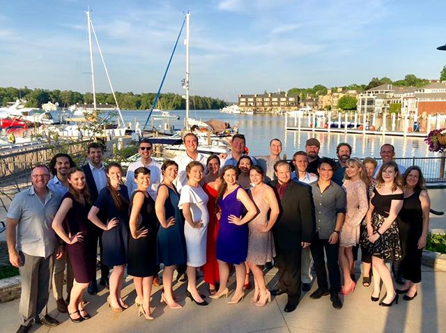 Opening night performance of UNVI 2018! A beautiful night of singing at the Odmark Pavilion in Charlevoix, MI #UNVI2018 #UNVIlieveable #crookedtreeartscenter