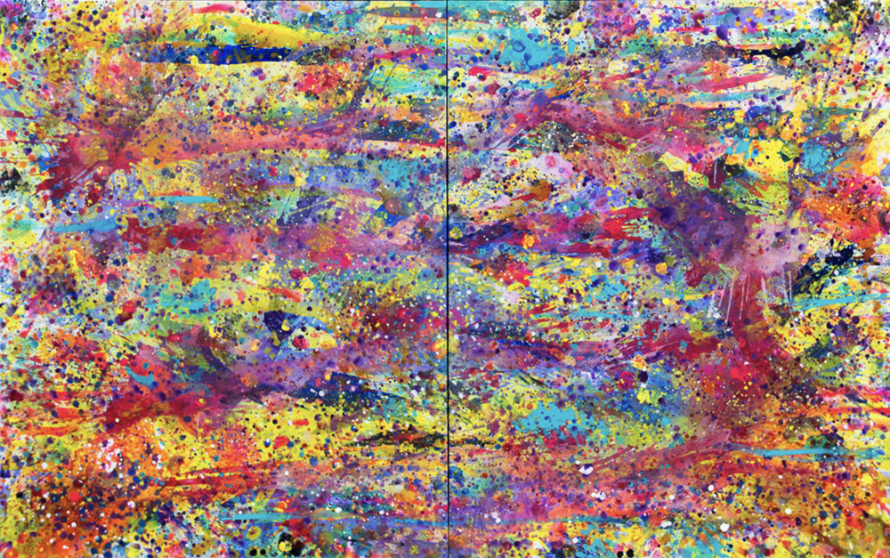 Biscayne blvd-sun water & sky_2014_acrylic on canvas_diptych_60x96_60x48each.png