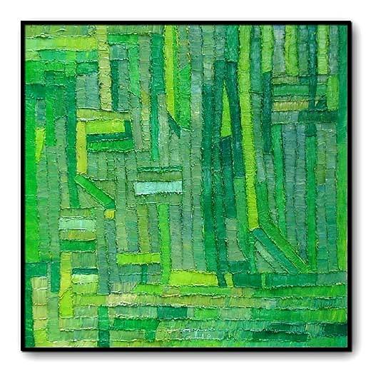 GreenDoors Oil on Canvas 36 x 36 1995.jpg
