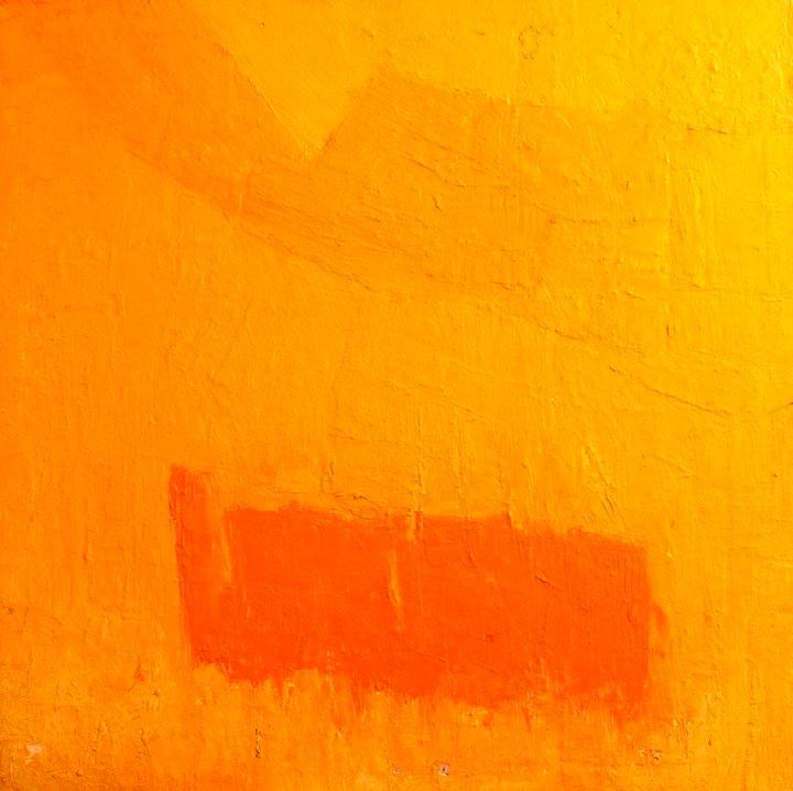 Midday Orange Oil on Canvas 36 x 36 1992.jpg