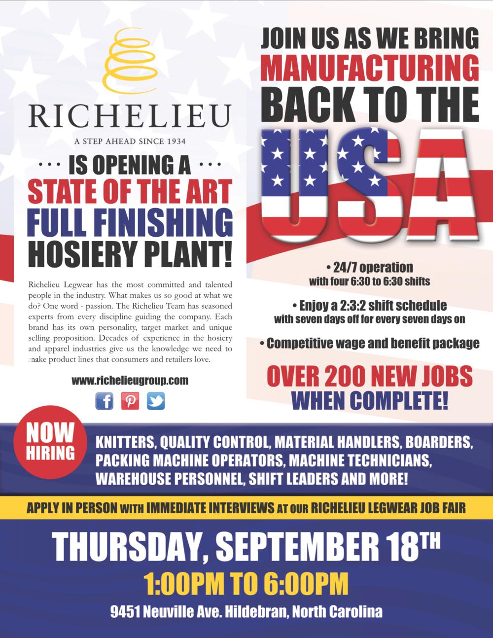 designs nicole ansalvish usa manufacturing job fair flyer