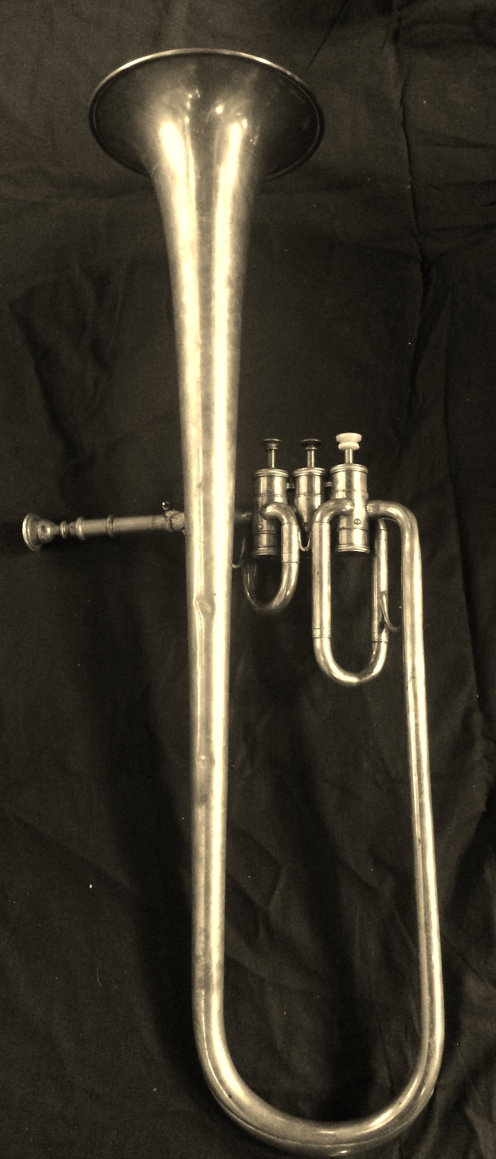 Adolphe Sax (Paris), sold by Distin & Sons (London) - contralto saxhorn in Bb