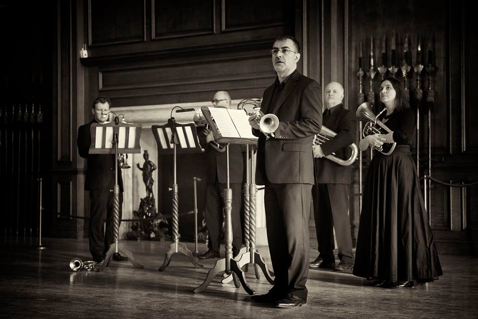 The Prince Regent's Band at Hampton Court (photo Daniel Serafini)