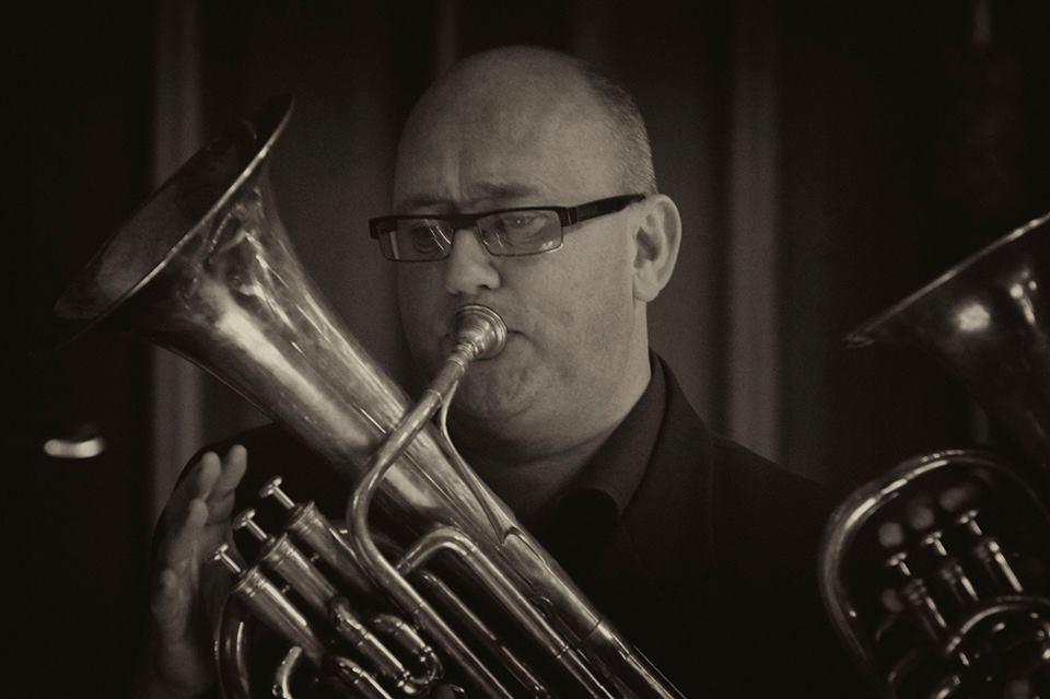 Phil Dale - The Prince Regent's Band at Hampton Court (photo Daniel Serafini)