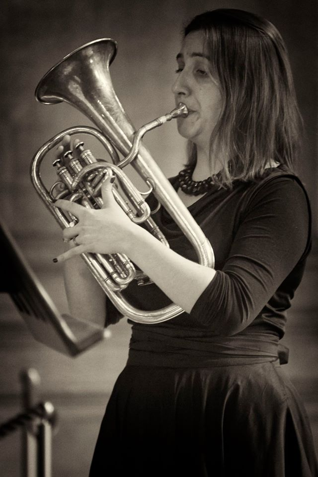 Anneke Scott - The Prince Regent's Band at Hampton Court (photo Daniel Serafini)