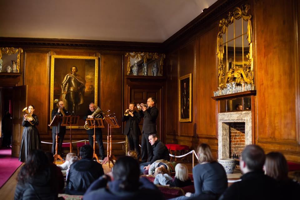 The Prince Regent's Band at Kensington Palace