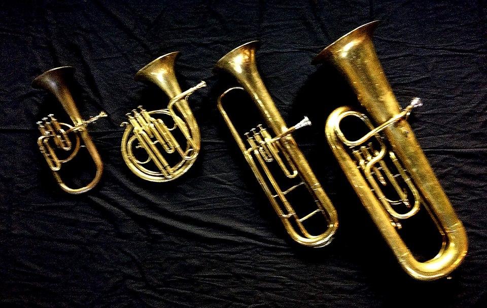 "Instruments used in ""The Celebrated Distin Family"" recording - Distin Quadrilles"