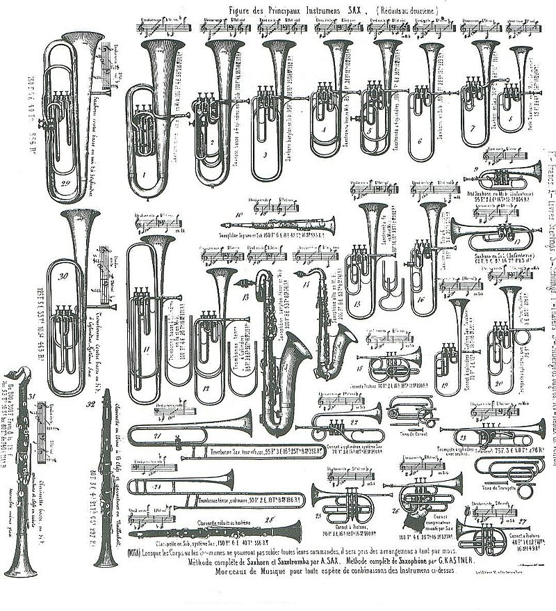 Adolphe Sax Catalogue